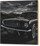 Shelby Gt350h Rent-a-racer Wood Print