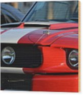 Shelby Gt500 Wood Print