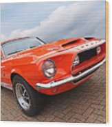 Shelby Gt500kr 1968 Wood Print