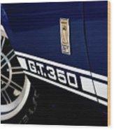 Shelby Mustang G T 350 Cobra Wood Print