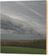 Shelf Cloud 16 Wood Print