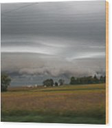 Shelf Cloud 6 Wood Print