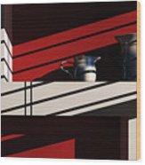 Shelf Life Wood Print