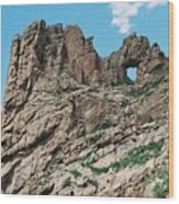 Shelf Road Rock Formations Wood Print