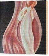 Shell Angel Wood Print