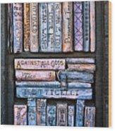 Shelved - 12 Wood Print