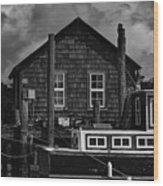 Shem Creek Heritage Wood Print
