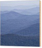 Shenandoah Mountains Wood Print by Pierre Leclerc Photography