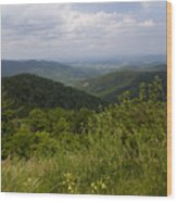 Shenandoah National Park - Skyline Drive Wood Print
