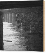Shenandoah Train Bridge Wood Print