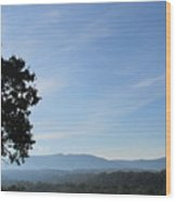 Shenandoah Valley Wood Print