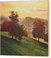 Shenandoah Valley Sunrise Wood Print