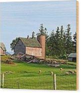 Shepard Farm Wood Print