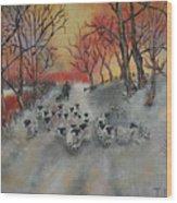Shepherd's Delight Wood Print