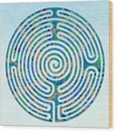 Shepherd's Race - Blues Wood Print
