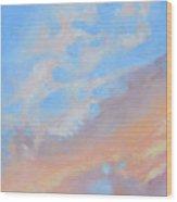 Poet's Sky Wood Print