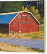 Sherman Barn Wood Print