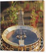 Sherridan Banjo Wood Print by Dyker_the_horse_1976