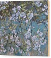 Sherry Flower 1 Wood Print