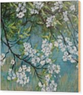 Sherry Flowers 2 Wood Print