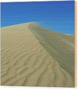 Shifting Dune Wood Print