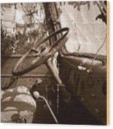 Shifting Gears...pennsylvania Ave. Wilkes Barre Pa. Wood Print