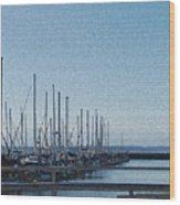 Shilshole Bay Marina 2010 Wood Print
