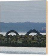 Shilshole Sea Serpent Wood Print