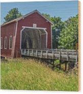 Shimanek Covered Bridge No. 2 Wood Print