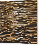 Shimmering Reflections Wood Print
