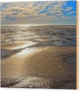 Shimmering Sands Wood Print