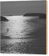 Shimmering Sea. Wood Print