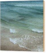 Shimmering Tide Wood Print