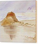 Shining Sands Wood Print