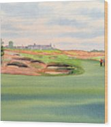 Shinnecock Hills Golf Course Wood Print by Bill Holkham