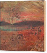 sHINto bEIngs Wood Print