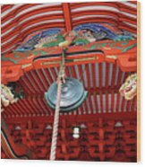 Shinto Shrine Wood Print