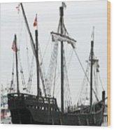Ship 11 Wood Print by Joyce StJames