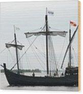Ship 13 Wood Print