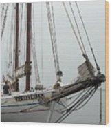 Ship 21 Wood Print