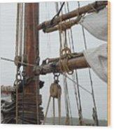 Ship 22 Wood Print by Joyce StJames