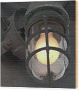 Ship Light Wood Print