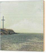 Ship Mast Memorial  Wood Print