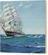Ship Waimate Wood Print