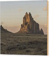 Shiprock 2 - North West New Mexico Wood Print