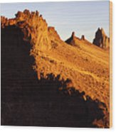 Shiprock New Mexico 2 Wood Print