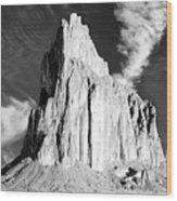 Shiprock New Mexico Wood Print