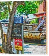 Shipwreck Museum Key West Florida Wood Print