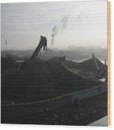 Shipyard Wood Print