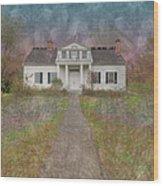 Shirley House  Wood Print